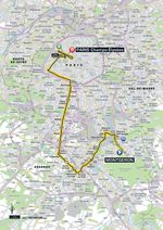Tour de France 2017, 21. Etappe: Montgeron – Paris Champs-Elysees. (Quelle: Geoatlas)