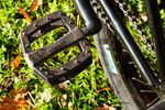 Extra lange Haltbarkeit durch eine spezielle Nylon-Kunstfasermischung? Bei Merritt BMX ist man von den P1 Pedals auf jeden Fall überzeugt.