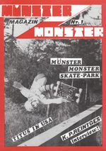 Monster Skateboard Magazine Ausgabe 1