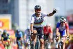 Peter Sagan (Bora-Hansgrohe) gewinnt die zweite Etappe der 105. Tour de France. und geht in die Führung im Gesamtklassement. (Foto: )