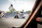 Bilderbuchlookdown von Pascal Kube im Skatepark Wendelstein