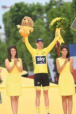 MIt seinem Gesamtsieg der 104. Tour de France holte sich Froome seinen vierten Sieg der Le Tour (Foto: Sirotti)