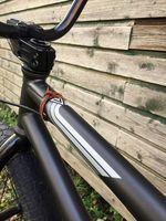 Alessandro Izzo hat etliche sinnvolle Modifikationen an seinem Rad