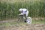 Tony Martin zerlegt seinen Konkurrenz wieder einmal in seiner Spezialdisziplin und gewinnt das Einzelzeitfahren. (Foto: Sirotti)