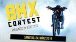 Am 24. März 2018 veranstaltet Infaction gemeinsam mit dem Team der Boneyard-Skathalle einen BMX-Contest für Newbies, Fortgeschrittene und Pros in Siegen.