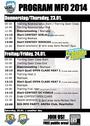 Timetable MFO 2014