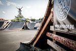 Daniel Austen, Nohander bis zum Anschlag über die Spine im Skatepark Wendelstein