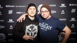 Ohne diese beiden Herren hätte es auf der Party kein Freibier gegeben, geschweige denn im vergangenen Jahr freedombmx.de: Daniel Fuhrmann vom kunstform BMX Shop und Bodo Hellwig von SIBMX. DANKE!