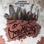 Save the date! Am 05. Oktober 2019 steigt in Hannover der Cremich-Streetjam. Weitere Infos gibt es in unserem Veranstaltungskalender.
