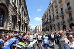 Nach drei Tagen in Israel geht der Giro d