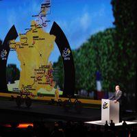 Tour de France 2015 - Präsentation der Streckenführung (Foto: Simon Wilkinson/SWpix.com)