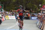 Richie Porte (BMC Racing) siegt zum fünften Mal in Folge auf der Königsetappe der Tour Down Under. (Foto: Sirotti)