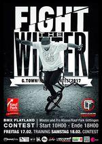 """Der """"Fight The Winter""""-Flatlandcontest findet 2017 vom 17.-18. Februar im Kauf Park Göttingen statt. Alles Weitere erfährst du hier."""