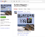 SURFERS goes GOOGLE PLUS