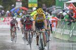 Robert Gesink, rain, Team LottoNL-Jumbo, 2015, Tour de Romandie, pic: Sirotti
