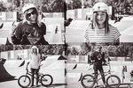 Es ist schön, zu sehen, dass BMX immer bunter wird. Lara Lessmann und Kayley Ashworth mit ihren Bikes