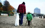 Beach Clean-Up in Hamburg