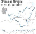 Der 162km lange Rundkurs verläuft durch Tschechien und Deutschland