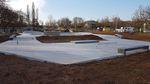 Der Plaza Bereich des neuen Parks in Waiblingen