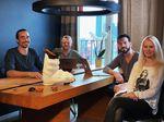 Das Team hinter Lazys: Linda, Markus, Jens und Björn