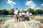 Die Gewinner des Amateurcontests beim BMX Männle Turnier 2018 in Tuttlingen