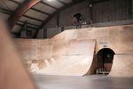 Amtlicher Footjam auf dem neuen Rider von Marcel Gans im The Promise Skatepark