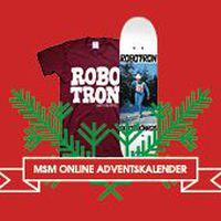 Robotron x Monster Skateboard Magazine Adventskalender