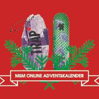 trap skateboards x monster skateboard magazine adventskalender
