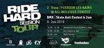 Der 2. Stopp der Ride Hard Session Tour 2019 findet am 8. Juni im Rahmen des Anti-Contests im Skatepark von Yverdon-les-Bains statt. Hier erfährst du mehr.