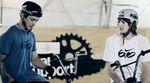 Daniel Tünte und Philipp Baum in der RooF-Halle