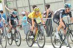 Bradley Wiggins gewann die Tour de France 2012 auf dem Pinarello Dogma 65.1 Think 2. Im drauffolgenden Jahr zog Chris Froome auf dem gleichen Bike nach. (Foto: Sirotti)