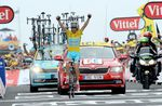 18. Etappe - Der dritte Etappensieg für den späteren Gesamtsieger Vincenzo Nibali (Astana Pro Cycling) in Hautacam zeigt endgültig wer diese Tour de France gewinnen wird. (Foto: Sirotti)