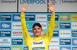 Kittel konnte sich im Massensprint der ersten Etappe der Tour of Britain durchsetzten und trägt nun das goldene Trikot. (Foto: Alex Whitehead/SWpix.com)