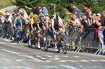 Auf dem letzten Kilometer kam es zum Showdown zwischen Dumoulin, Thomas und Froome. (Foto: Sirotti)