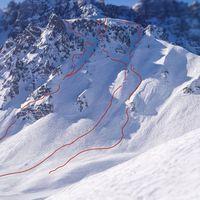 Axamer Lizum, Österreich, Freeride, Lines