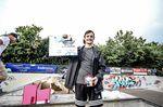 Luc Morat konnte beim BMX Männle 2019 im Skatepark Tuttlingen mit einem Sprung über die Parkmauer den Best-Trick-Contest für sich entscheiden