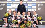 """DIe Frauenmannschaft gibt sich zuversichtlich und selbstbewust. """"Wir haben als Mannschaft eine sehr erfolgreiche Saison gehabt und haben uns gut vorbereitet"""", sagt Coach Koen van Haan. (Foto: Sirotti)"""