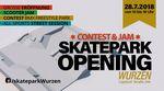 Am 28.7.2018 findet bei der Eröffnung des neuen Holzskateparks in Wurzen ein BMX-Contest statt, bei dem es insgesamt 1.000 EUR Preisgeld zu gewinnen gibt.