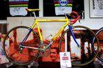 Marco Pantanis Rad in den Hallen von Wilier.