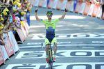 16. Etappe - Michael Rogers (Tinkoff-Saxo) aus Australien ersetzt seinen verletzt ausgeschiedenen Kapitän Alberto Contador gleichwertig und holt sich mit einem furiosen Ausbruch aus der Führungsgruppe auf der längsten Etappe (237,5km) in Bagnères-de-Luchon seinen ersten Tour-Etappensieg. (Foto: Sirotti)