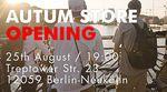 Die Homies von Autum Bicycles eröffnen am 25.8.2017 einen Laden in Berlin–Neukölln und stellen gleich noch ihre neue Klamottenkollektion vor. Mehr dazu hier