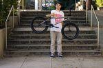 Back in the Allgäu: Fabian Bader macht ab sofort auf einem neuen Rad von Fiend BMX die heimischen Gefilde unsicher