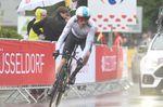 Geraint Thomas (Sky) trotzte dem Wetter und fuhr mit einer beachtlichen Leistung zum Etappensieg (Bild: Sirotti)