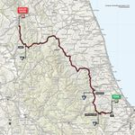 Die 10. Etappe des Giro d