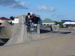 Max Gaertigs Lieblingsobstacle im Black Pearl Skatepark kommt mit erstaunlich viel Rundung daher