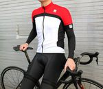 Sportful Pista short sleeve jersey, Total Comfort bib shorts, No-Rain arm and knee warmers, and Grupetto socks