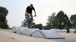 Dan Oswald bearbeitet im Auftrag von Felt BMX Streetspots und Skateparks in seiner Heimatstadt Dresden sowie den Mellowpark in Berlin.