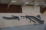 Der Streetbereich der Skatehalle Oldenburg