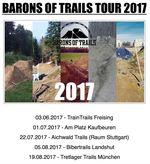 Auch 2017 wird es wieder eine Barons of Trails Tour geben, die in diesem Jahr um einen fünften Spot erweitert wird