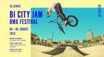 Der Bielefeld City Jam feiert vom 4.-5. August 2018 sein 15jähriges Jubiläum. Weitere Infos zum BMX-Festival im Kesselbrink Bike- und Skatepark gibt es hier